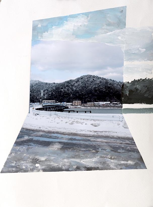 Miki Okamura Landscape Series No. P02-18